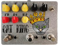 Pédale overdrive / distortion / fuzz Fuzzrocious Cat King Overdrive/Distortion