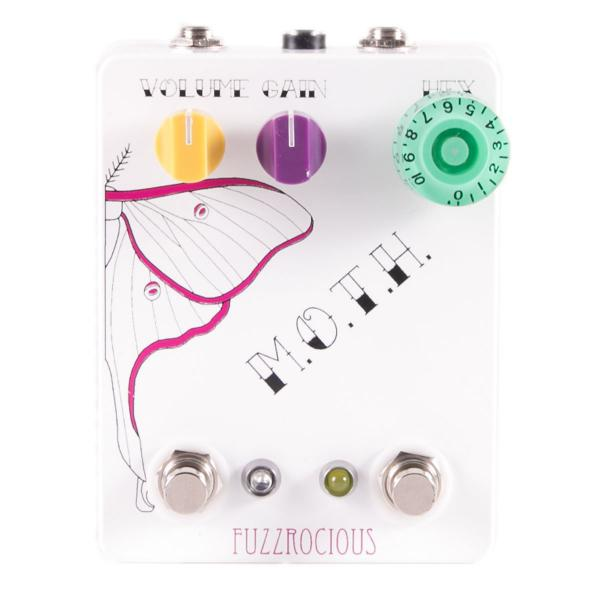 Pédale overdrive / distortion / fuzz Fuzzrocious M.O.T.H. Overdrive/Tremolo
