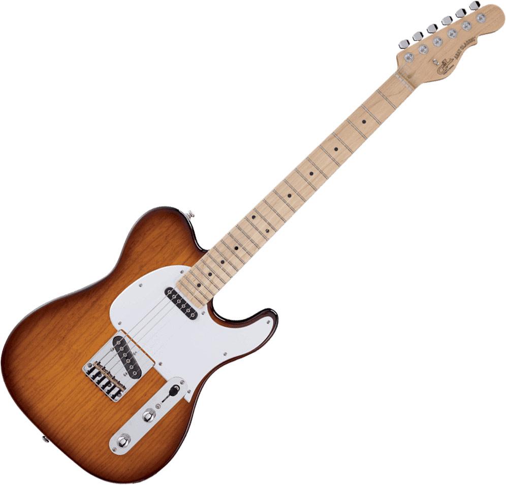 G/&L Tribute S500 Sonic Blue Touche palissandre Guitare /électrique