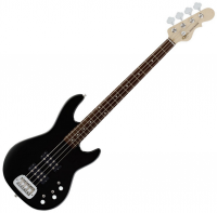 Basse électrique solid body G&l L-2000 Tribute RW - Gloss black