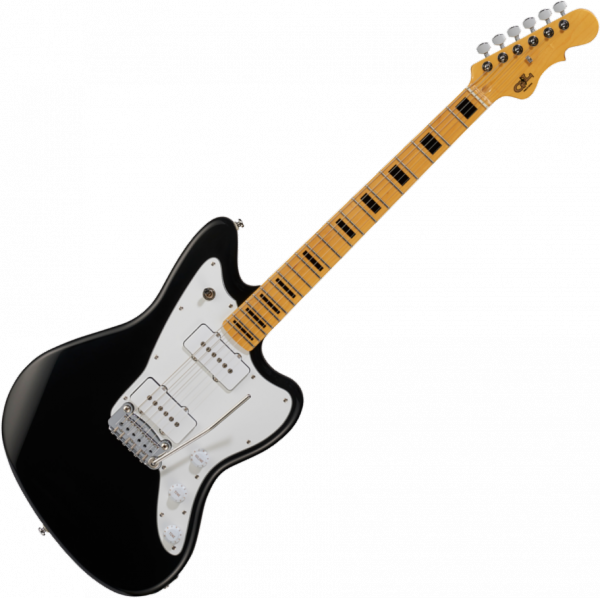 Guitare électrique solid body G&l Tribute Doheny - jet black