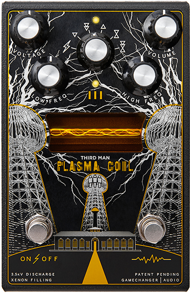 Pédale overdrive / distortion / fuzz Game changer PLASMA COIL