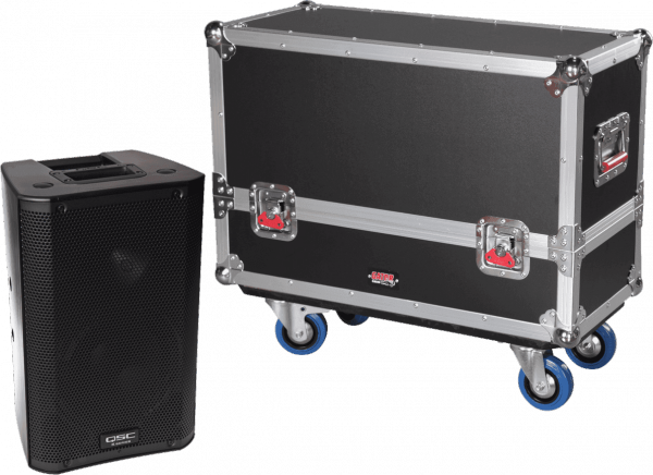 Flight case enceinte sono Gator G-TOURSPKR-2K8