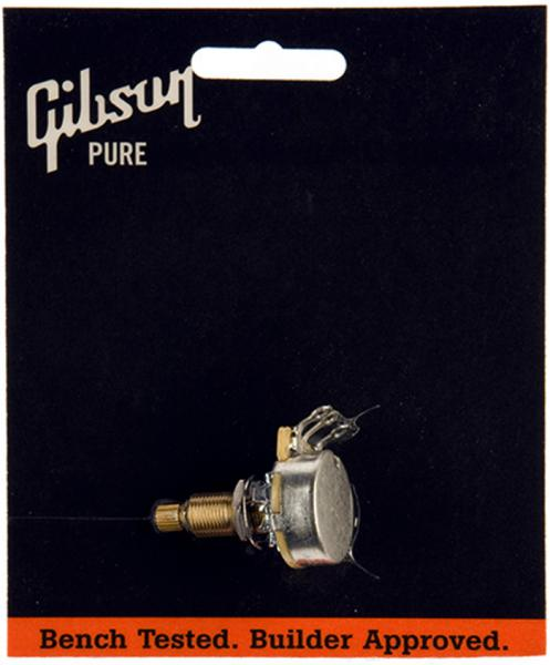 Potentiomètre  Gibson 500k Ohm Audio Taper Long Shaft