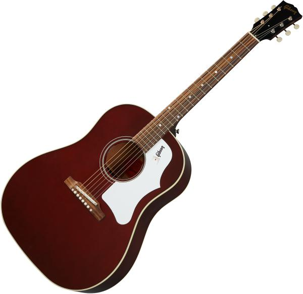 Guitare folk & electro Gibson 60s J-45 - Wine red
