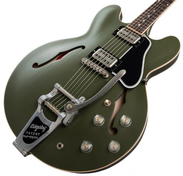 image Chris Cornell ES-335 Tribute - olive drab green