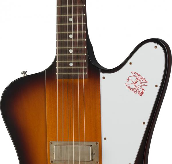 Guitare électrique solid body Gibson Custom Shop Eric Clapton 1964 Firebird I - vos vintage sunburst