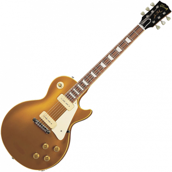 Guitare électrique solid body Gibson Custom Shop 1954 Les Paul Goldtop Ltd - vos antique gold