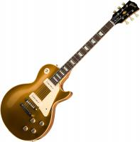 Guitare électrique solid body Gibson Custom Shop 1968 Les Paul Goldtop Reissue 2019 - 60s gold