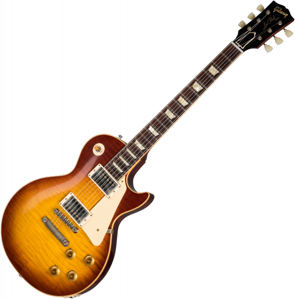 Guitare électrique solid body Gibson Custom Shop 60th Anniversary 1959 Les Paul Standard (Indian RW) - vos cherry teaburst