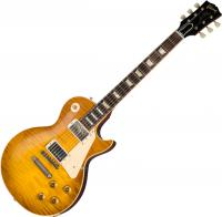 Guitare électrique solid body Gibson Custom Shop 60th Anniversary 1959 Les Paul Standard (Bolivian RW) - Vos golden poppy burst