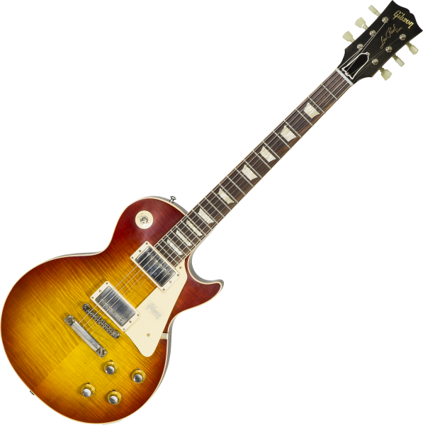 Guitare électrique solid body Gibson Custom Shop 60th Anniversary 1960 Les Paul Standard V2 #00492 - Vos tomato soup burst