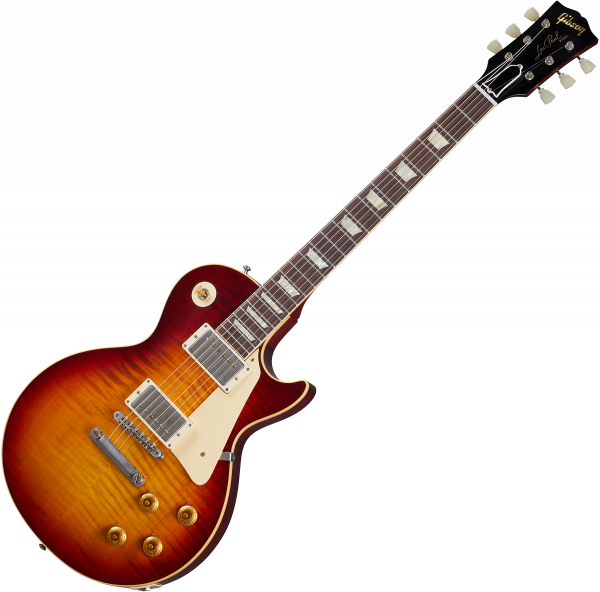 Guitare électrique solid body Gibson Custom Shop Murphy Lab 1959 Les Paul Standard Reissue - Ultra light aged factory burst