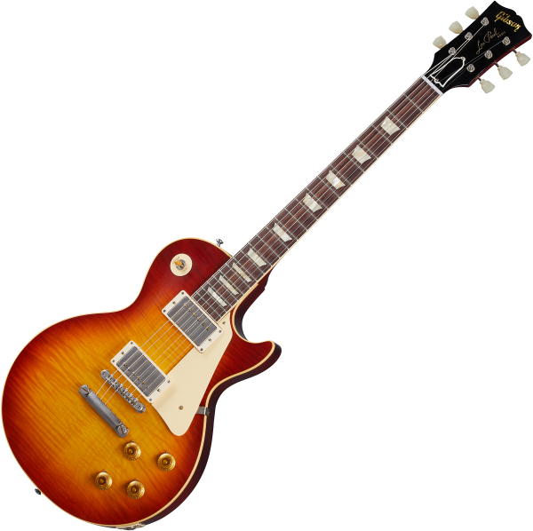 Guitare électrique solid body Gibson Custom Shop Murphy Lab 1959 Les Paul Standard Reissue - Ultra light aged sunrise teaburst