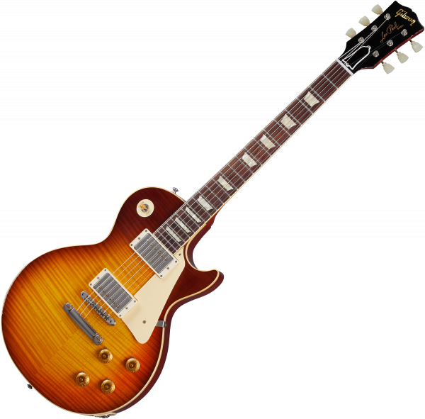 Guitare électrique solid body Gibson Custom Shop Murphy Lab 1959 Les Paul Standard Reissue - Light aged royal tea burst