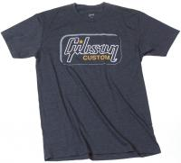 T-shirt Gibson Custom T Heathered Gray - M