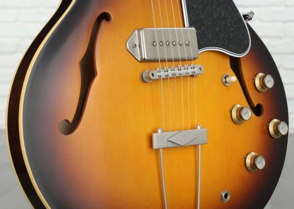 Guitare électrique hollow body Gibson 1964 ES-330 Historic 2019 - vos vintage sunburst