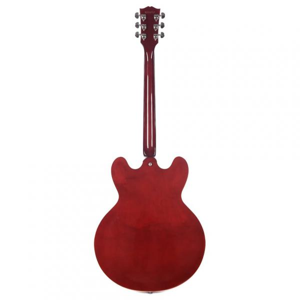 Guitare électrique hollow body Gibson ES-335 DOT P-90 2019 - wine red