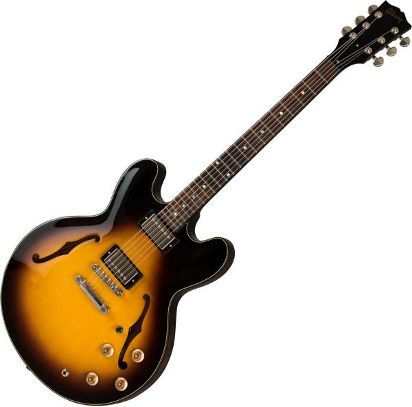 Guitare électrique hollow body Gibson ES-335 Studio 2019 - vintage sunburst