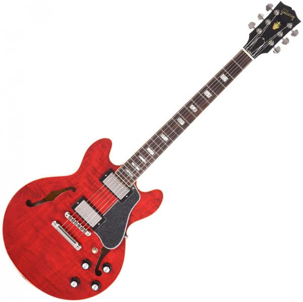 Guitare électrique hollow body Gibson ES-339 Figured 2019 - sixties cherry