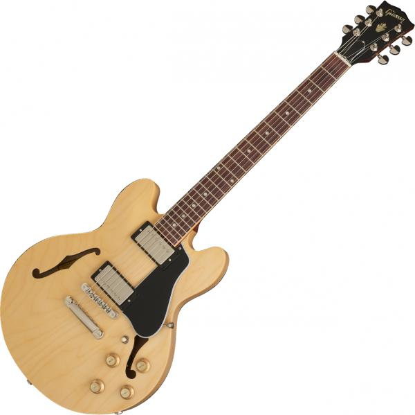 Guitare électrique hollow body Gibson ES-339 2019 - dark natural