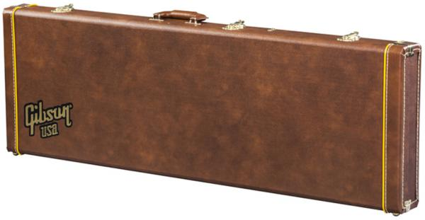 Etui basse électrique Gibson Flying V Bass Case - Historic Brown