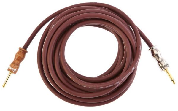 Câble Gibson Pure Premium Instrument Cable 25ft / 7.62m - Cherry