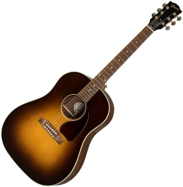 Guitare folk & electro Gibson J-45 Studio 2019 - walnut burst