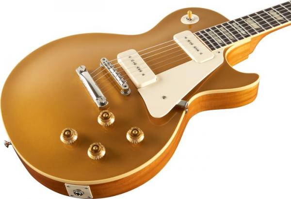 image Custom Shop Les Paul Goldtop 1956 - Gloss Antique Gold  - antique gold
