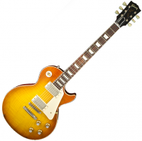 image Custom Shop Les Paul Standard 1960 Plain Top V2 Neck - VOS Iced Tea