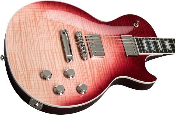 Guitare électrique solid body Gibson Les Paul Standard HP-II 2018 - hot pink fade