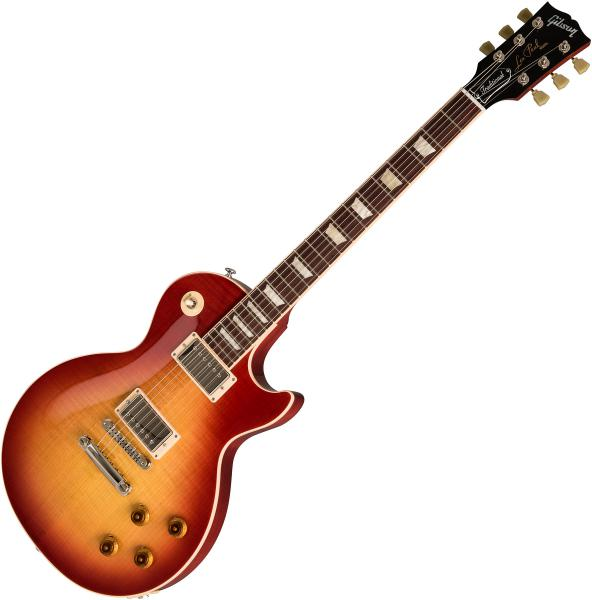 Guitare électrique solid body Gibson Les Paul Traditional 2019 - heritage cherry sunburst