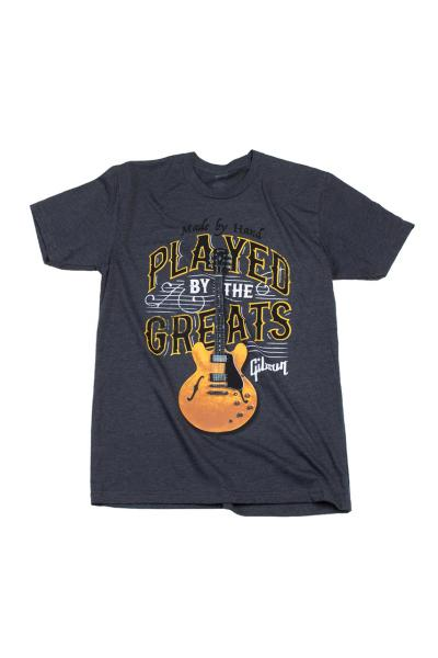T-shirt Gibson Played By The Greats T Charcoal - L