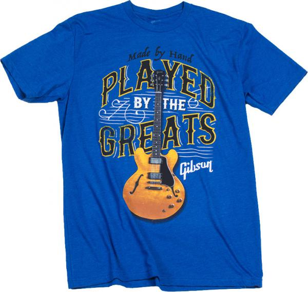 T-shirt Gibson Played By The Greats T Royal Blue - XL