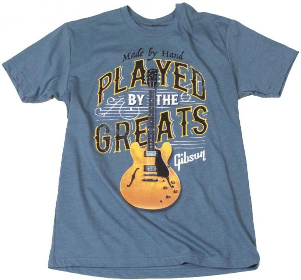 T-shirt Gibson Played By The Greats T Indigo - L