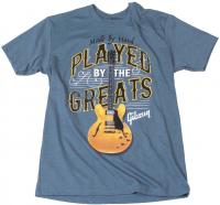 T-shirt Gibson Played By The Greats T Indigo - M