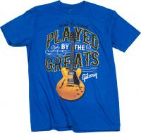 T-shirt Gibson Played By The Greats T Royal Blue - M