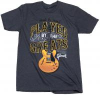 T-shirt Gibson Played By The Greats T Charcoal - S