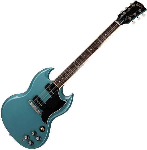 Guitare électrique solid body Gibson SG Special 2019 Ltd - faded pelham blue