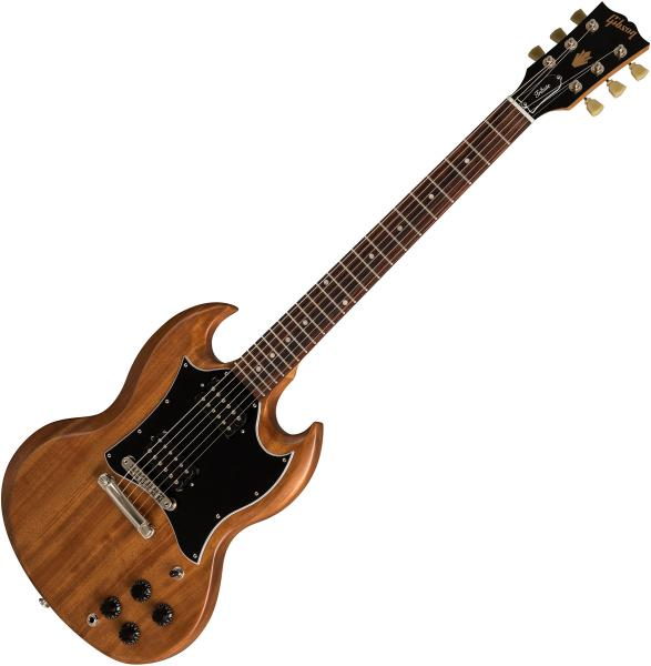 Guitare électrique solid body Gibson SG Standard Tribute 2019 - natural walnut