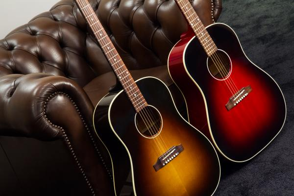 Guitare folk Gibson Slash J-45 - november burst