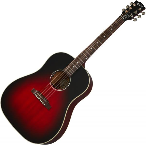 Guitare folk Gibson Slash J-45 - vermillion burst