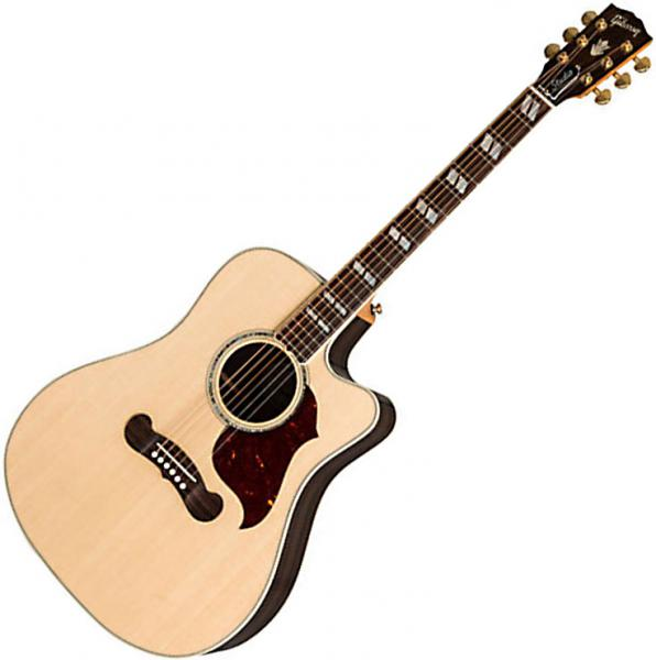 Guitare folk Gibson Songwriter Cutaway 2019 - antique natural