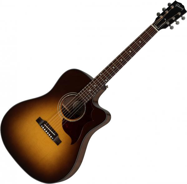 Guitare folk & electro Gibson Songwriter Modern EC Walnut - burst