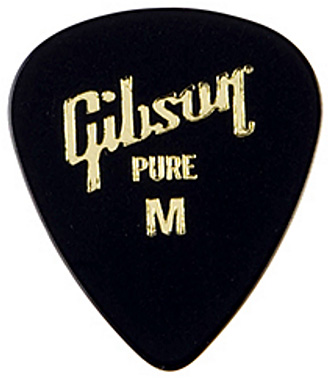 Médiator & onglet Gibson Standard Style Guitar Pick Medium