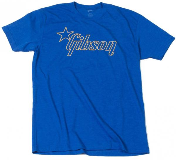T-shirt Gibson Star Logo T - Blue