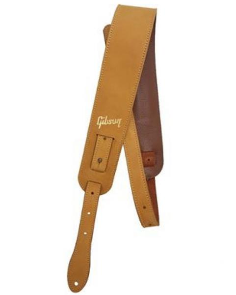 Courroie sangle Gibson The Nubuck Guitar Strap - Tan