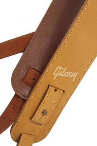 Sangle courroie Gibson The Nubuck Guitar Strap - Tan