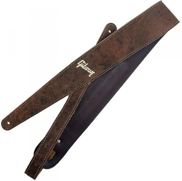 Sangle courroie Gibson The Western Vintage Guitar Strap - Brown