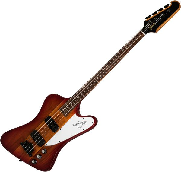 Basse électrique solid body Gibson Thunderbird Bass 2019 - heritage cherry sunburst